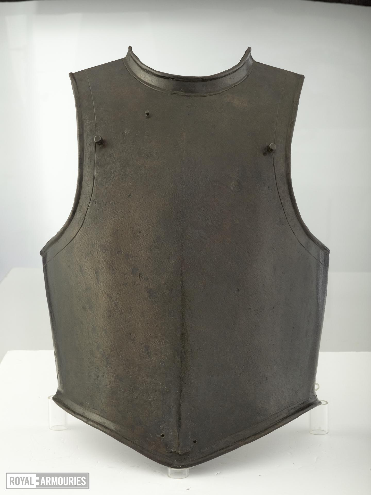 Harquebusier's breastplate