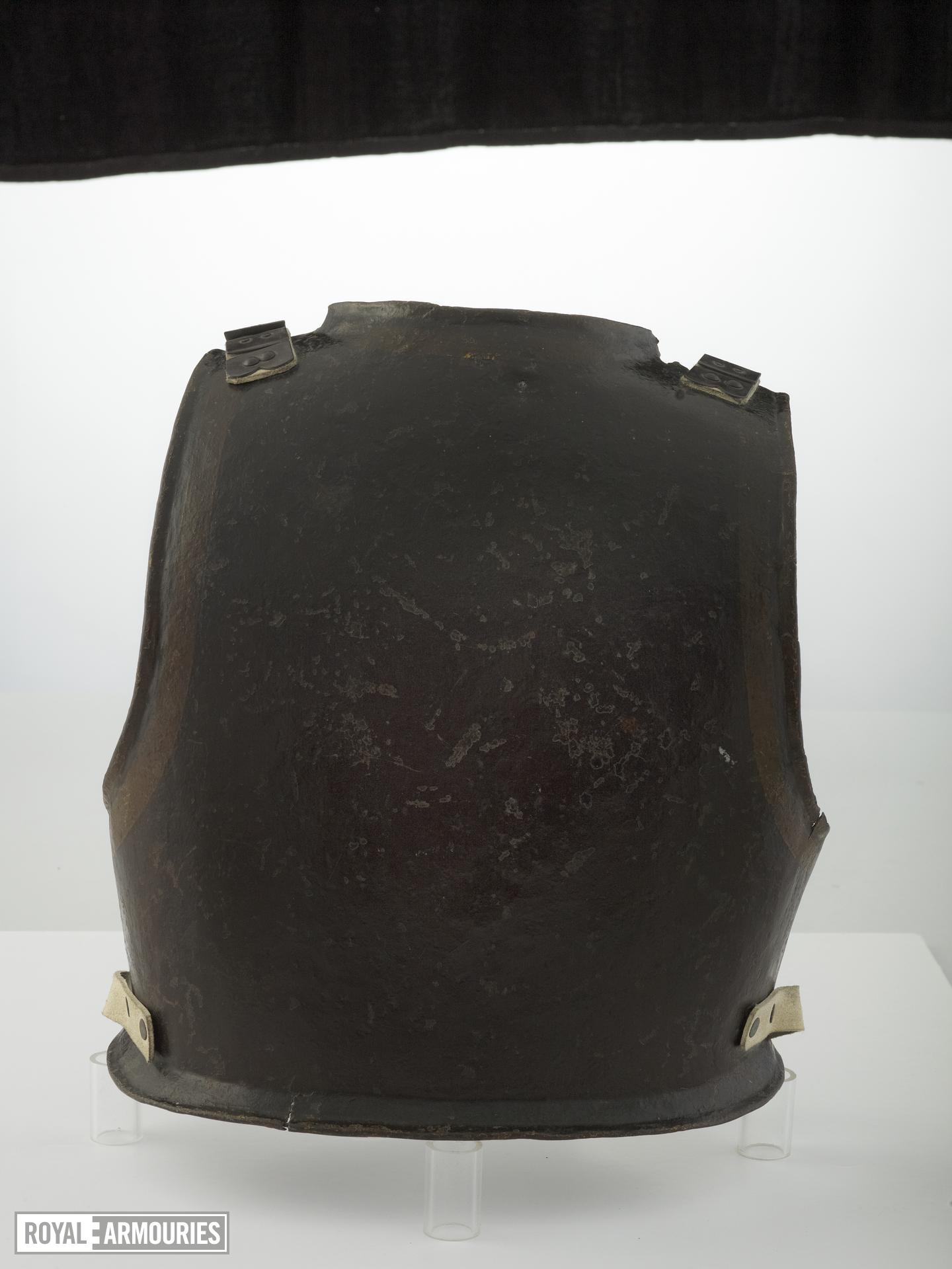 Harquebusier's backplate