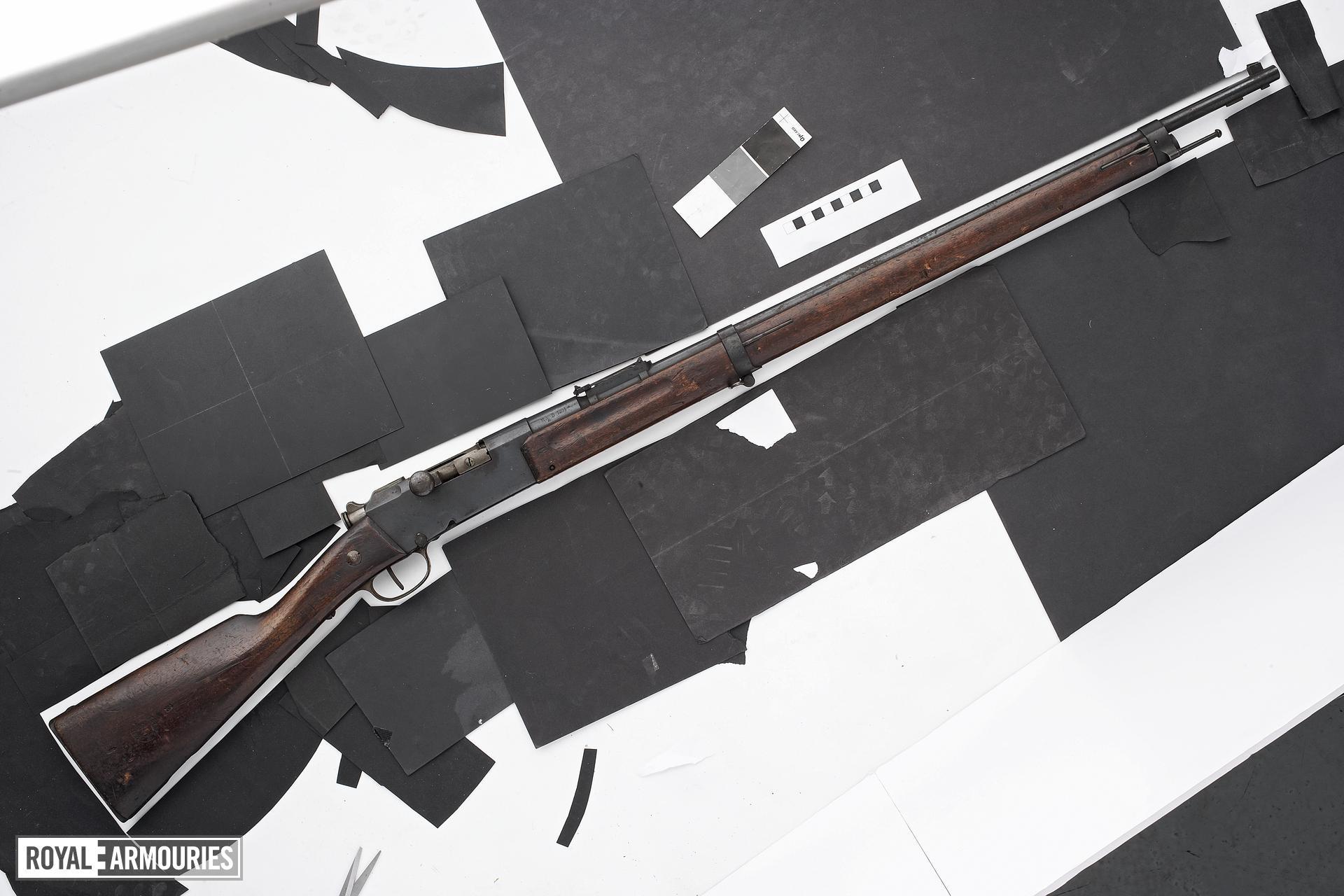 Centrefire bolt-action magazine rifle - Gras Kropatschek Lebel rifle