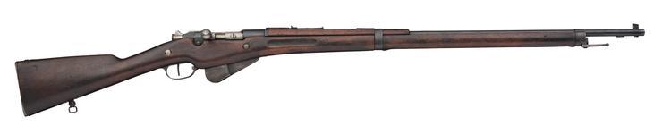 Thumbnail image of Centrefire bolt-action rifle - Mannlicher-Berthier Model 1916