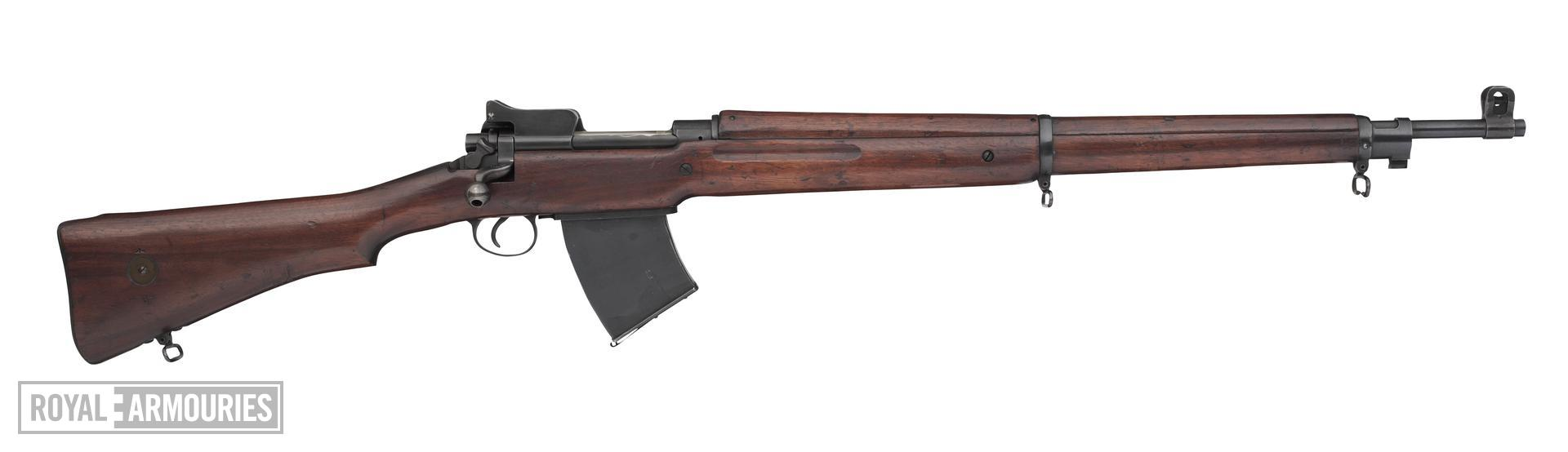 Centrefire bolt-action rifle - Experimental Pattern 1914 Mk.I (W)