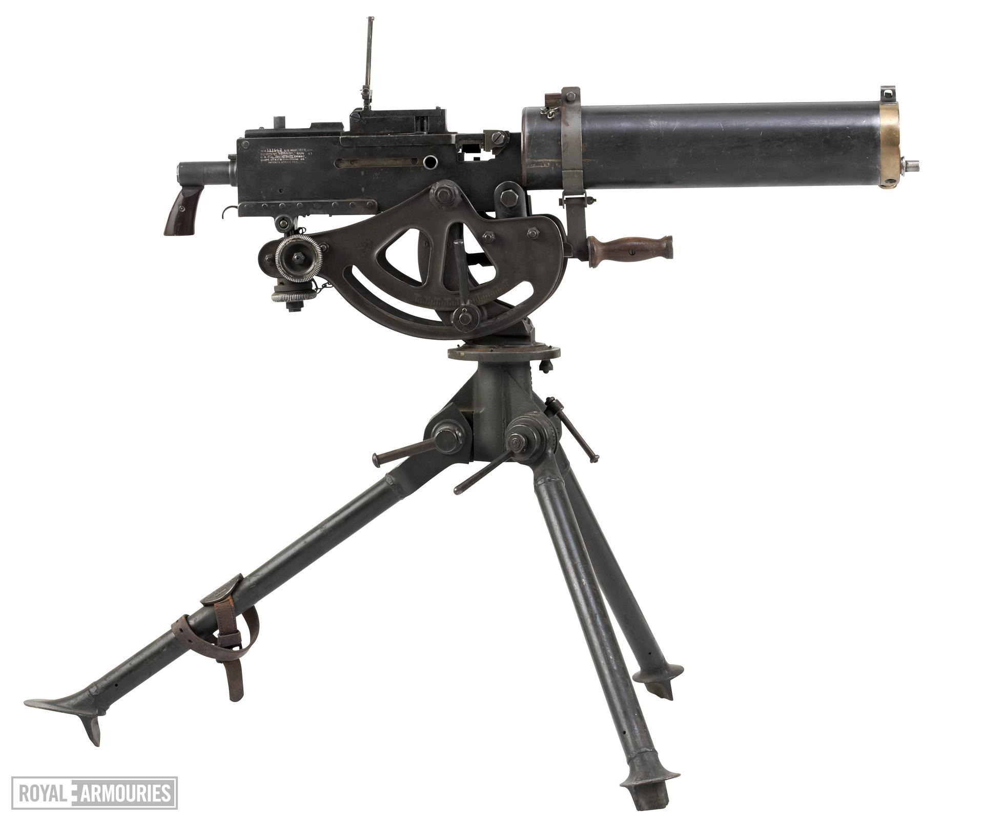 Browning Model of 1917 A1 machine gun by Colt, American, about 1918
