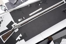 Thumbnail image of Flintlock muzzle-loading military musket - James II type