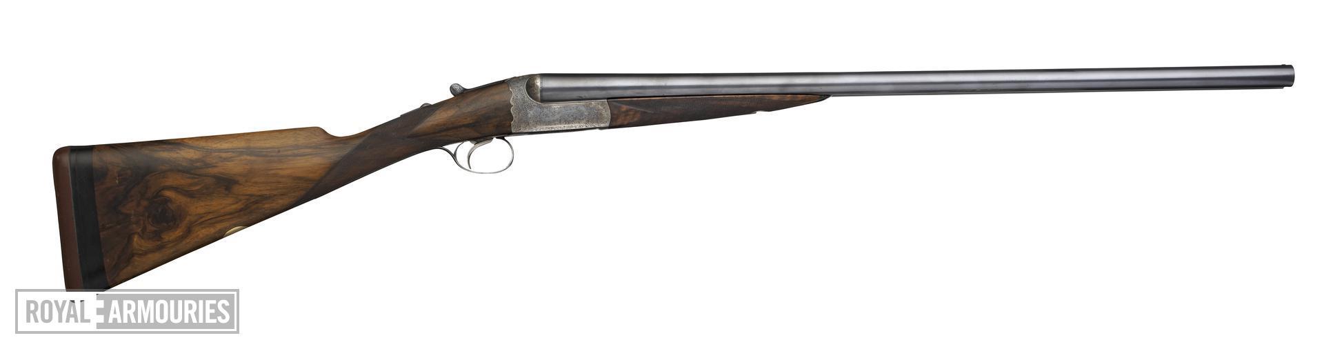 Centrefire double-barrelled shotgun - Westley Richards