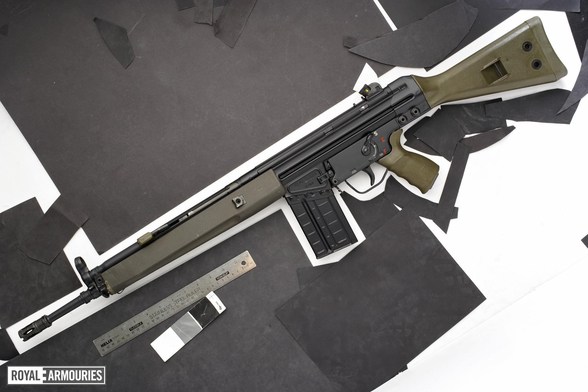 Centrefire automatic rifle - G3A3