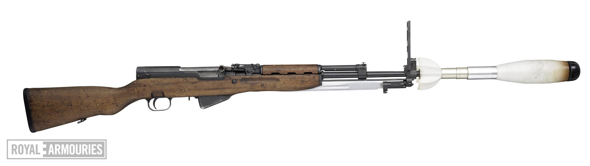 Centrefire self-loading rifle - Model 59/66 (Simonov SKS)