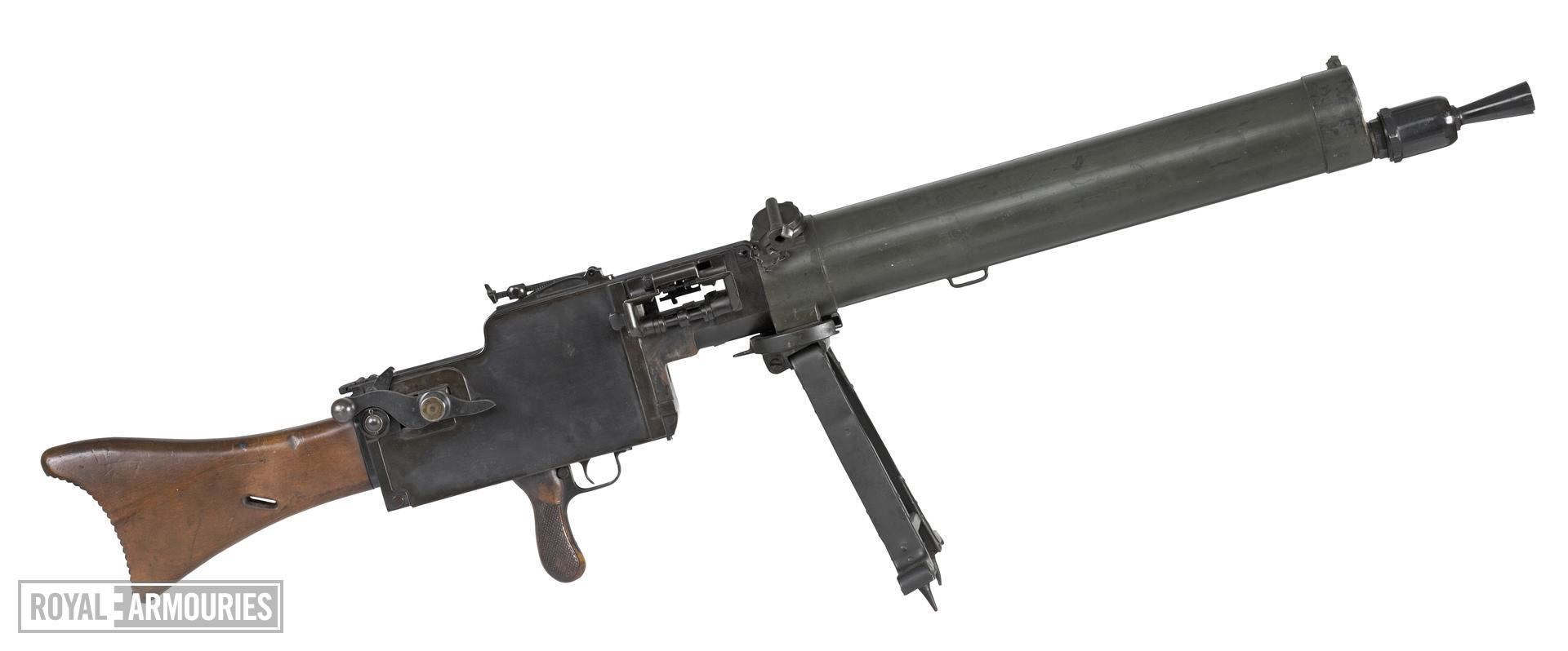 Maxim MG08/15 light machine gun, German, 1918