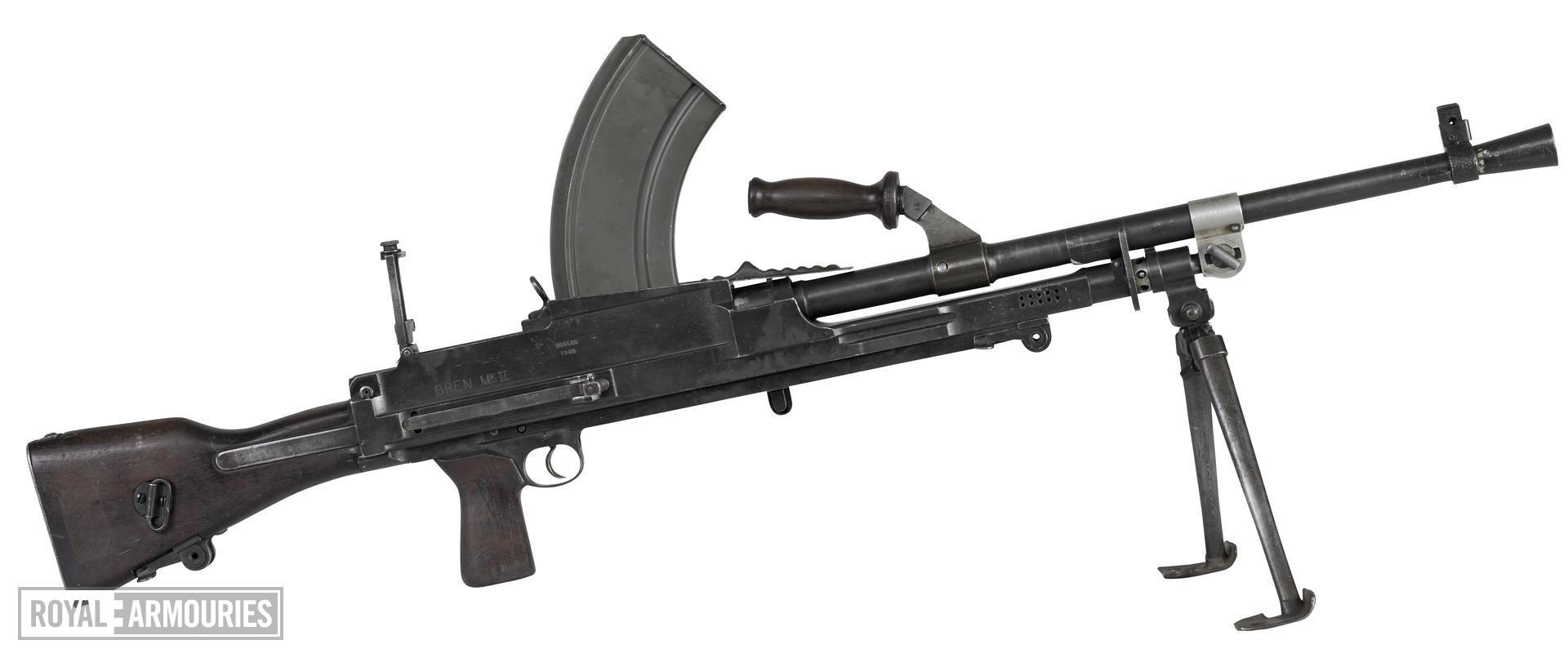 Centrefire automatic machine gun - Bren Mk.II