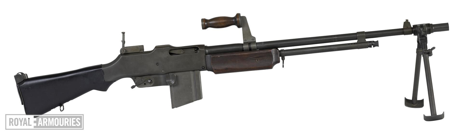 Centrefire automatic light machine gun - Browning Model 1918 A2