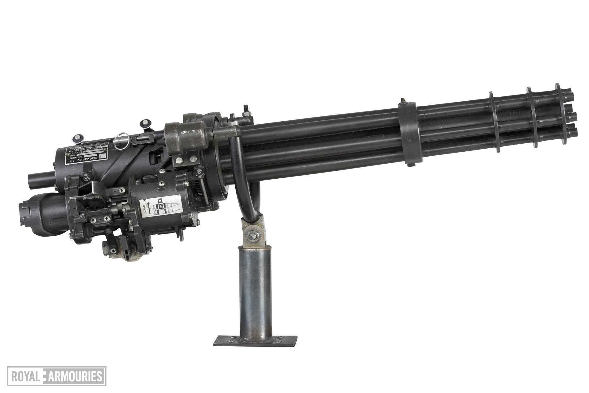 Centrefire automatic machine gun - GEC M134, GAU 2B/A