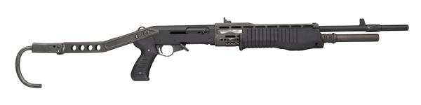 Thumbnail image of Centrefire self-loading shotgun - Franchi SPAS-12 Can be operated as a pump action or a self loading action shotgun