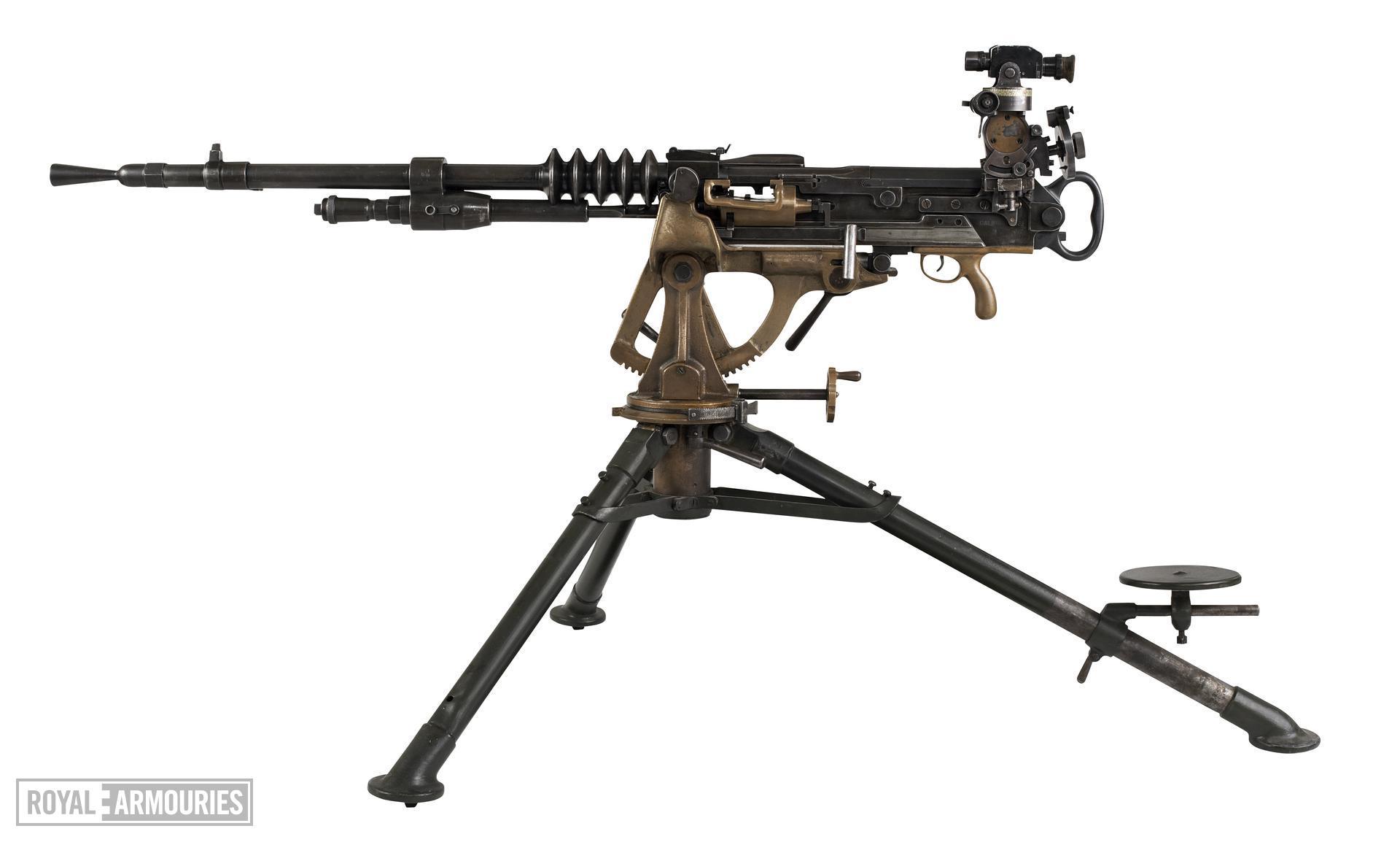 Hotchkiss machine gun, Belgian, associated with PR.302