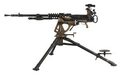 Thumbnail image of Hotchkiss machine gun, Belgian, associated with PR.302