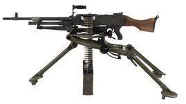 Thumbnail image of Centrefire automatic machine gun - FN MAG58 By Fabrique Nationale, Herstal, Liege