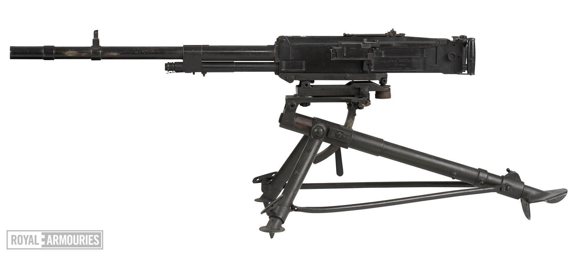 Centrefire automatic machine gun - Breda Model 1937