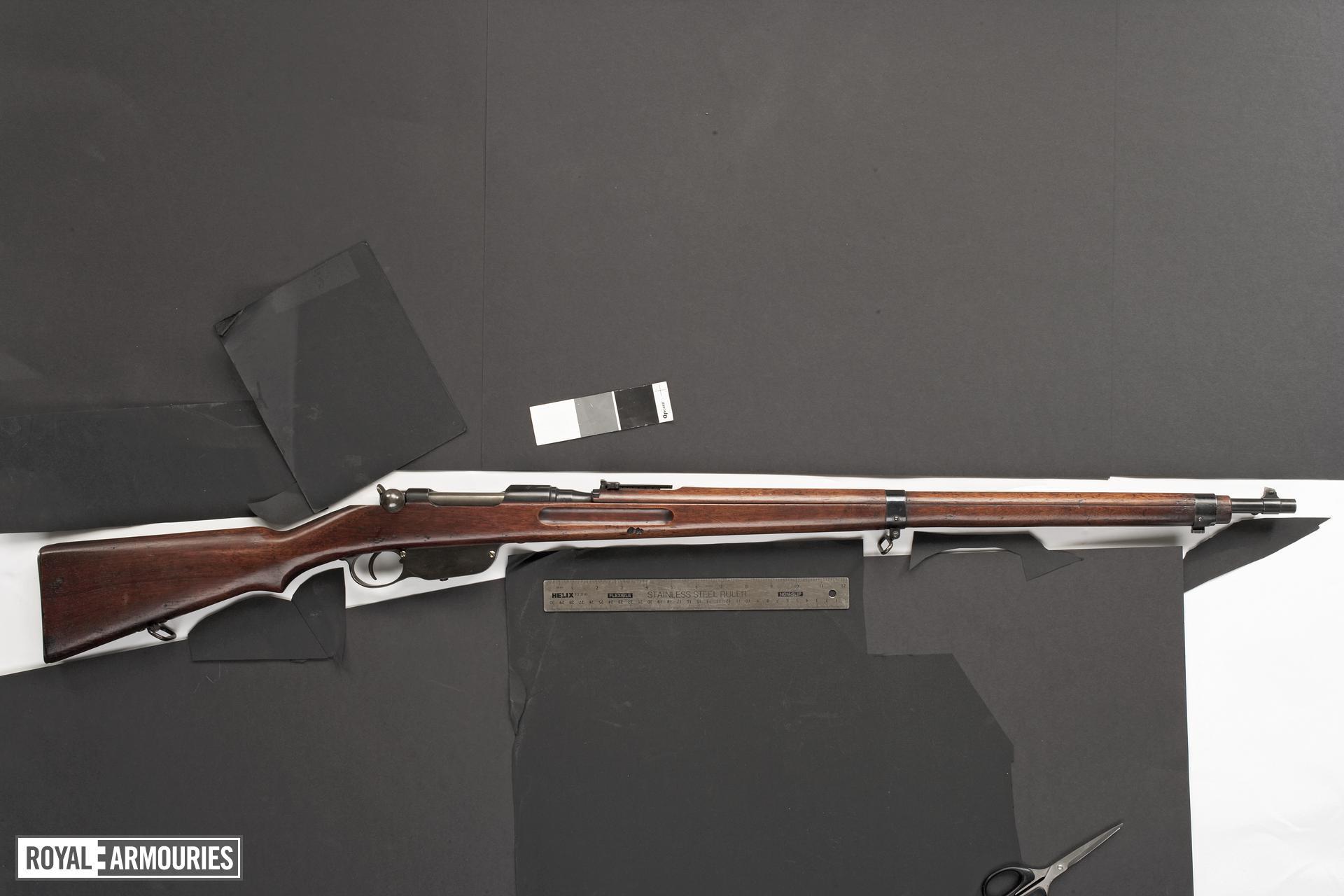 Centrefire bolt-action rifle - Mannlicher Model 1895