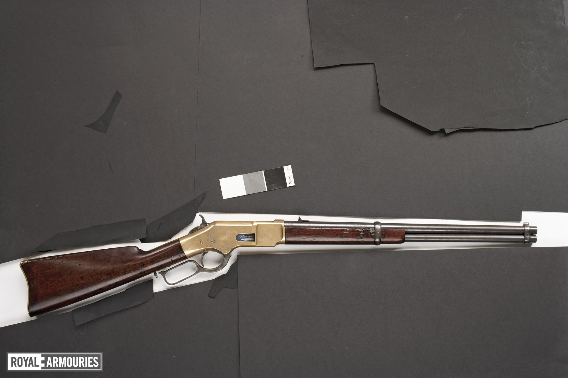 Rimfire lever-action rifle - Winchester Model 1866