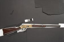 Thumbnail image of Rimfire lever-action rifle - Winchester Model 1866 By Winchester Repeating Arms Co
