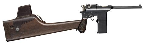 Thumbnail image of Centrefire automatic pistol - Astra M902