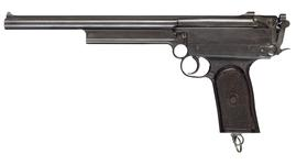 Thumbnail image of Centrefire self-loading pistol - Gabbett-Fairfax Mars
