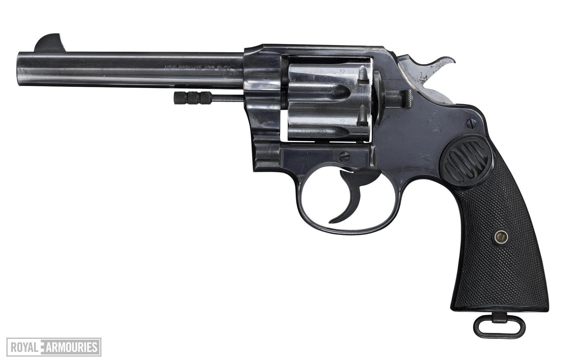 Centrefire six-shot revolver - Colt New Service