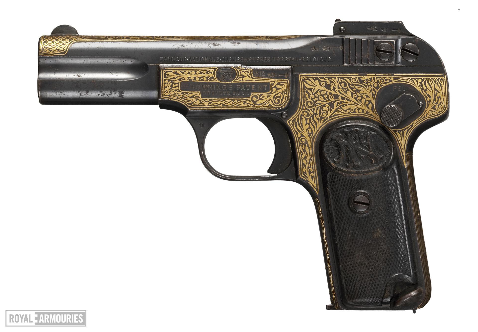Centrefire self-loading pistol - FN Browning Model 1900
