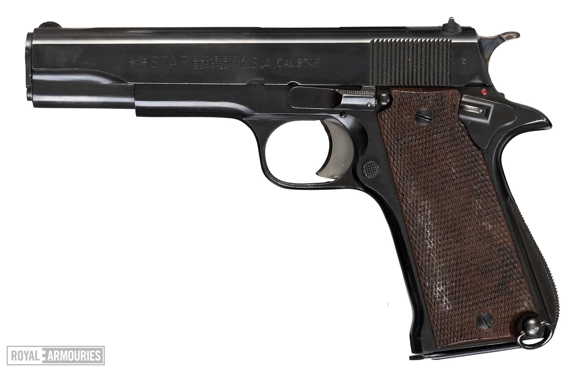 Centrefire self-loading pistol - Star Model B
