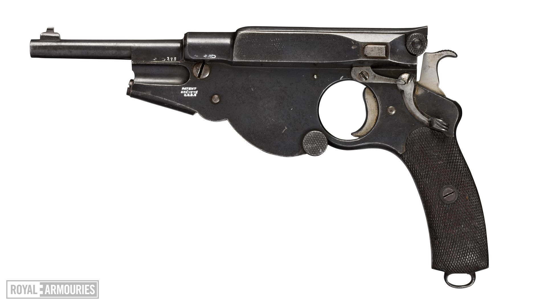 Centrefire self-loading pistol - Bergmann Model 1896 No.3