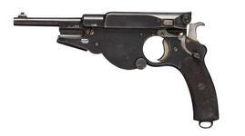 Thumbnail image of Centrefire self-loading pistol - Bergmann Model 1896 No.3 By V. C. Schilling