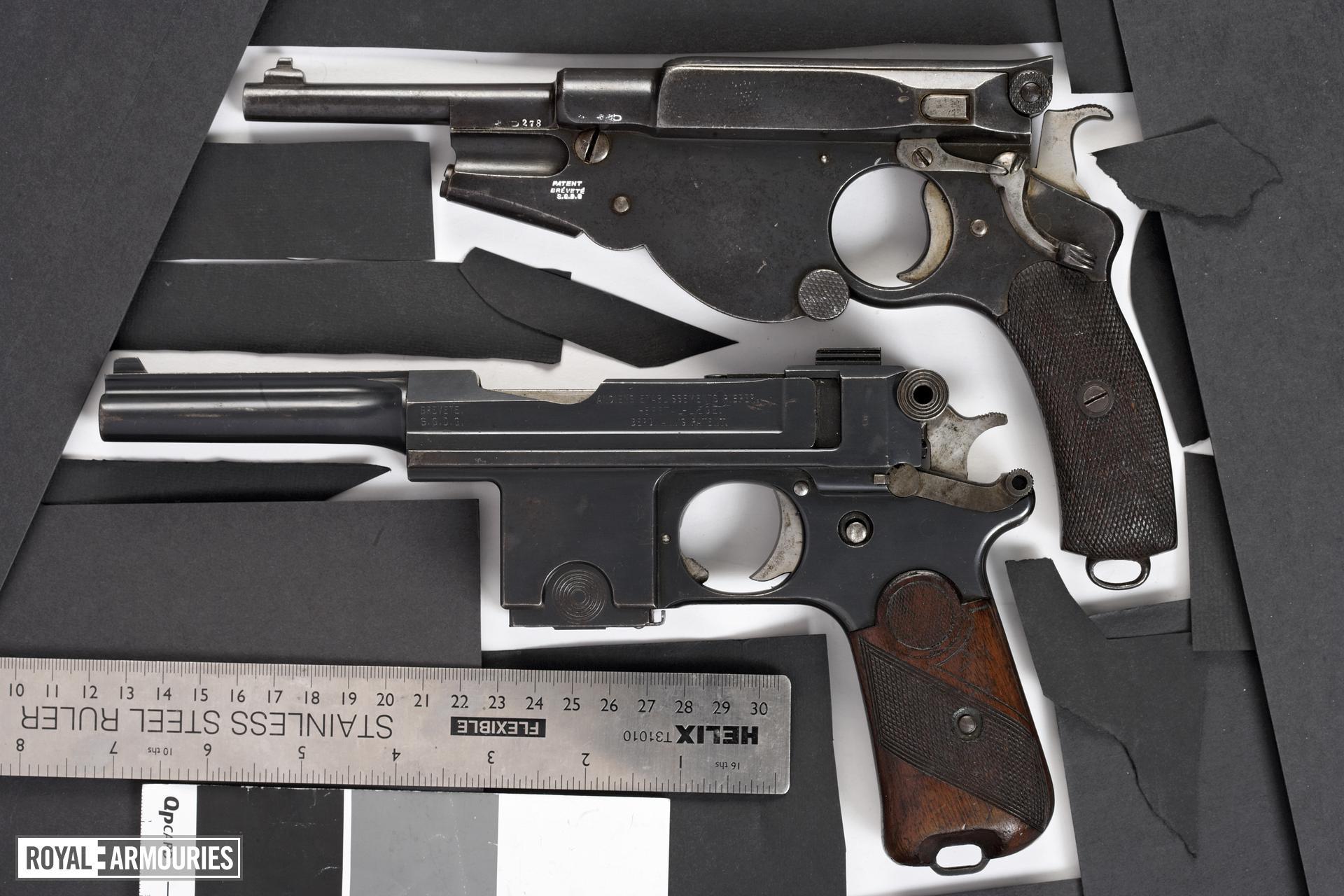 Centrefire self-loading pistol - Bergmann Bayard Model 1910