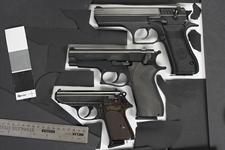 Thumbnail image of Centrefire self-loading pistol - IMI Jericho Model 941