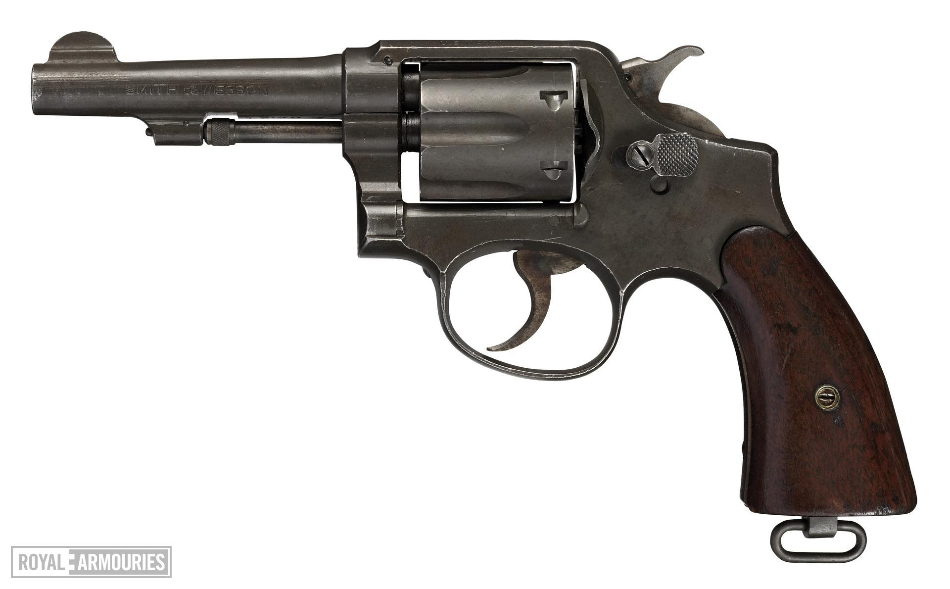 Centrefire six-shot revolver - Smith and Wesson Victory Model, Military and Police