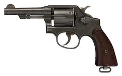 Thumbnail image of Centrefire six-shot revolver - Smith and Wesson Victory Model, Military and Police