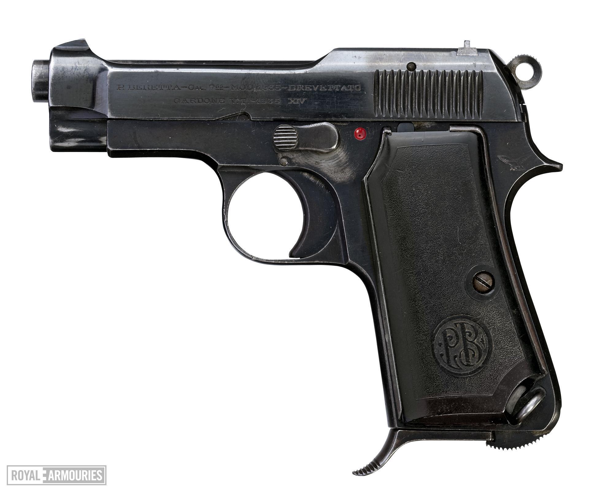 Centrefire self-loading pistol - Beretta Model 1935