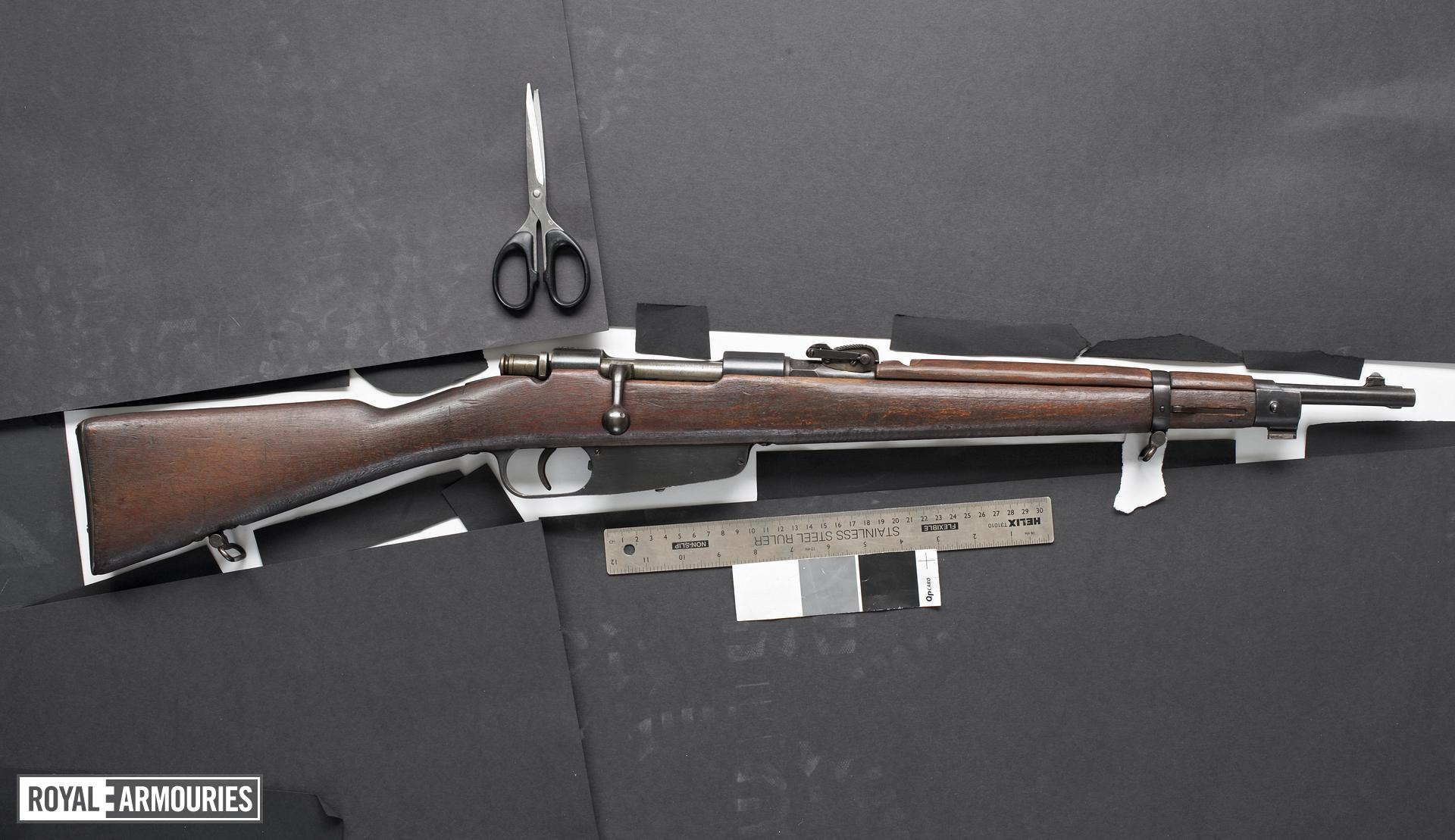 Centrefire bolt-action carbine - Mannlicher-Carcano Model 1891 TS