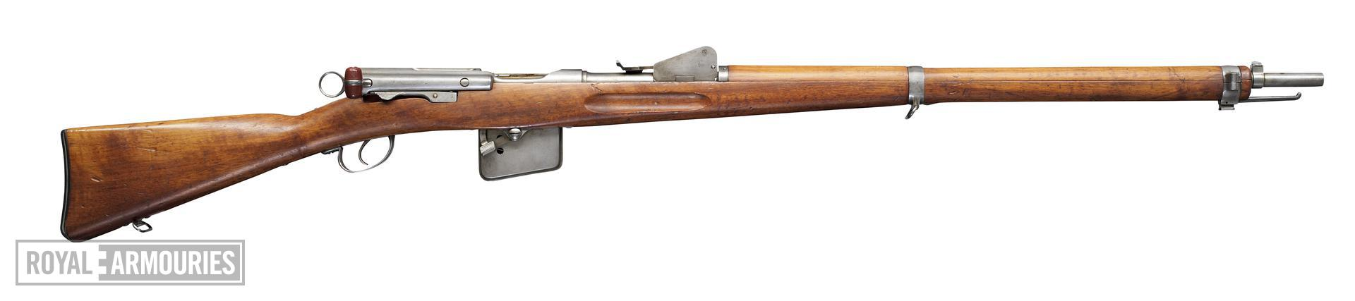 Centrefire bolt-action rifle - Experimental Schmidt-Rubin Model 1889