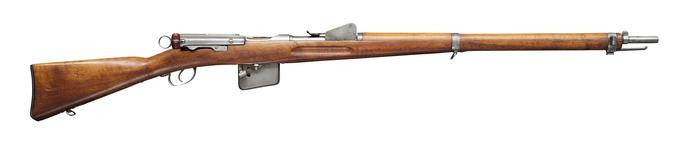 Thumbnail image of Centrefire bolt-action rifle - Experimental Schmidt-Rubin Model 1889