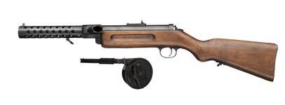 Thumbnail image of Bergmann MP18/1 submachine gun, German