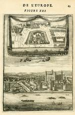 Thumbnail image of Tower of London plan and view