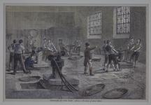 Thumbnail image of Print Later reprint of the Rowlandson illustration of the interior of the Mint.