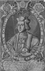 Thumbnail image of Print Engraved portrait of Edward IV.