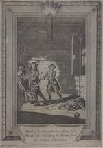 Thumbnail image of Print: BLOOD AND HIS ACCOMPLICES MAKING THEIR ESCAPE.
