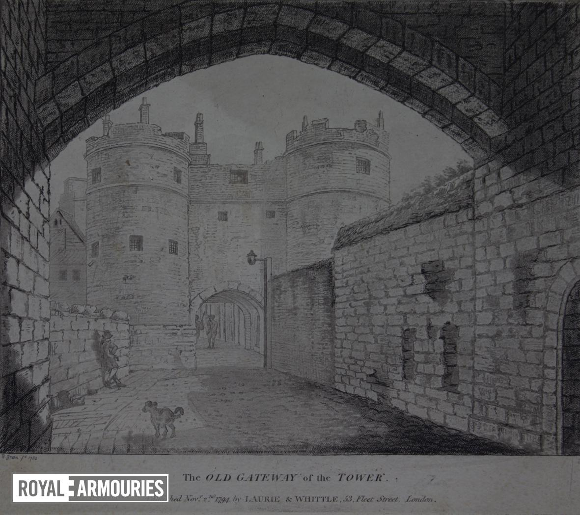 Old Gateway - Tower of London
