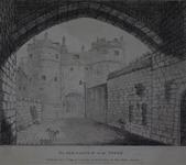 Thumbnail image of Print The Old Gateway of the Tower of London, dated 2 November, 1794.