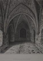 Thumbnail image of Print 'Interior of the Well Tower', Tower of London, about 1820.