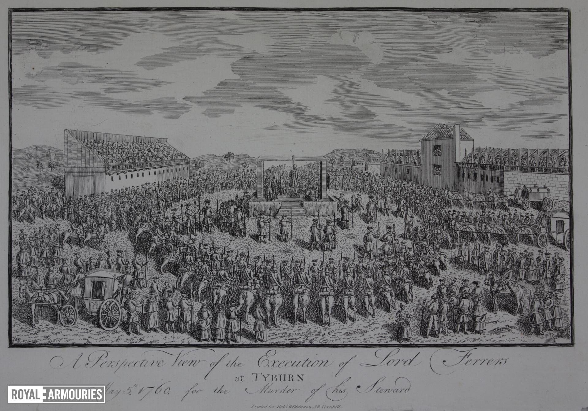 Execution of Lord Ferrers at Tyburn