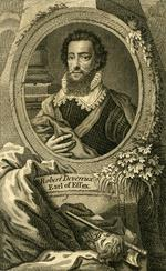 Thumbnail image of Print portrait of Robert Devereux, Earl of Essex