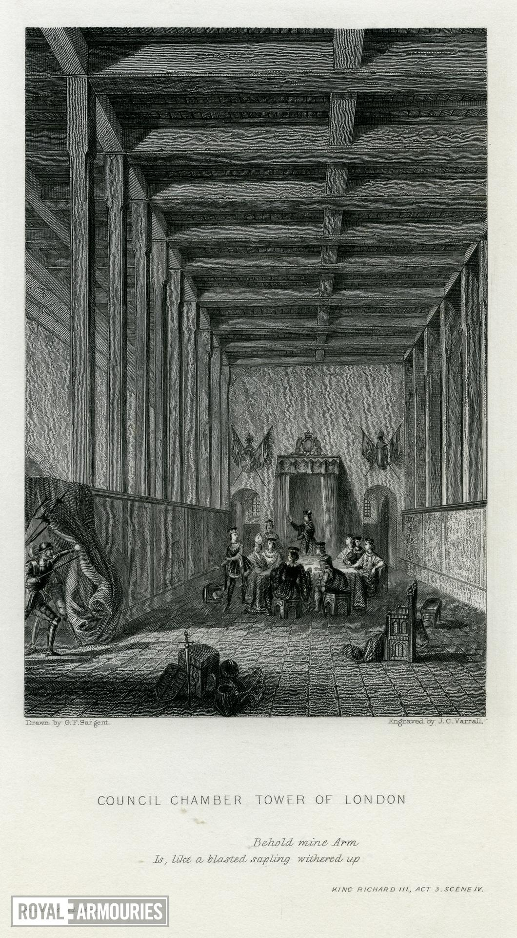 The Council Chamber in the White Tower