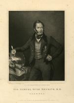 Thumbnail image of Print  Portrait Of Sir Samuel Meyrick