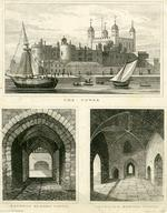 Thumbnail image of Print Three small views of the Tower of London, abt. 1830